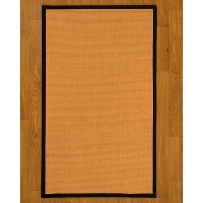 Delaware Natural Fiber Sisal Hand-Woven Beige Area Rug Rug Size: Rectangle 4 x 6