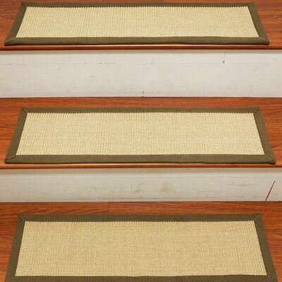Degory Sisal Carpet Ivory Stair Tread