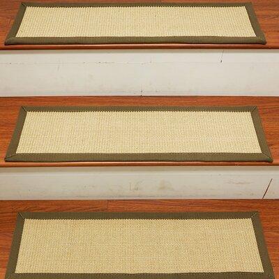 Degory Sisal Carpet Ivory Stair Tread