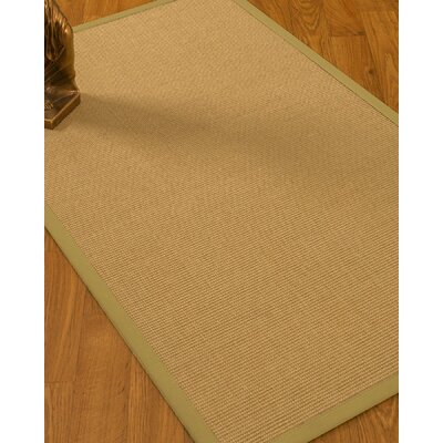 Astley Hand Woven Beige Area Rug Rug Size: Rectangle 6' x 9'