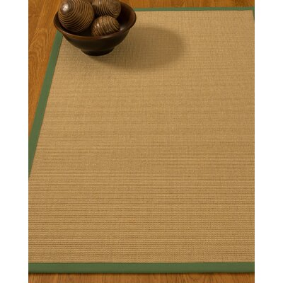 Astley Hand Woven Beige Area Rug Rug Size: Rectangle 4 x 6