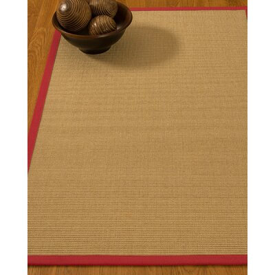 Astley Hand Woven Beige Area Rug Rug Size: Rectangle 3 x 5
