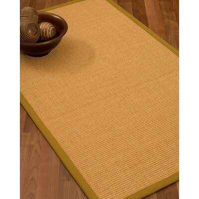 Buggs Hand Woven Brown Area Rug Rug Size: Runner 2'6