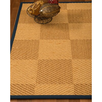 Luhrmann Hand Woven Beige/Brown Area Rug Rug Size: Rectangle 5 X 8