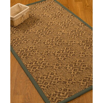 Camile Hand Woven Brown Area Rug Rug Size: Rectangle 3 X 5