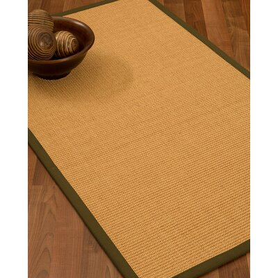 Buggs Hand Woven Brown Area Rug Rug Size: Rectangle 6 X 9