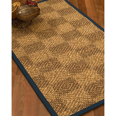 Hearne Hand Woven Brown Area Rug Rug Size: Rectangle 9 X 12