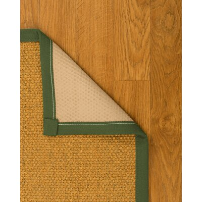 Pritzker Hand Woven Yellow Area Rug Rug Size: Rectangle 5 X 8