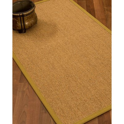 Healey Hand Woven Brown Area Rug Rug Size: Rectangle 6 X 9