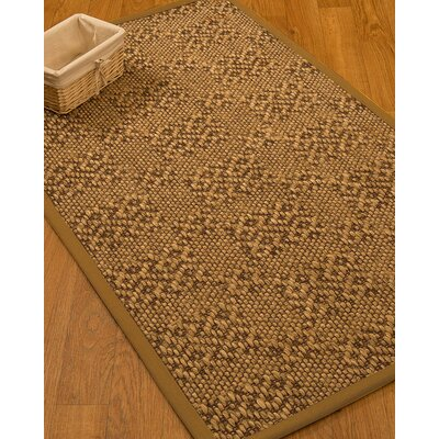 Camile Hand Woven Copper Area Rug Rug Size: Rectangle 6 X 9