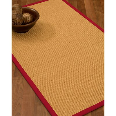 Buggs Hand Woven Brown Area Rug Rug Size: Rectangle 2 X 3