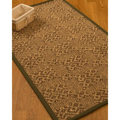 Camile Hand Woven Copper Area Rug Rug Size: Rectangle 9 X 12