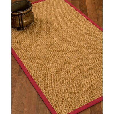 Healey Hand Woven Brown Area Rug Rug Size: Rectangle 4 X 6