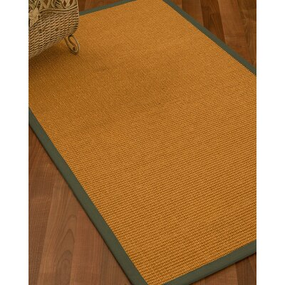Bullen Hand Woven Brown Area Rug Rug Size: Rectangle 9 X 12