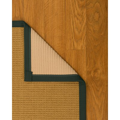 Coleridge Hand Woven Brownl Area Rug Rug Size: Rectangle 6 X 9