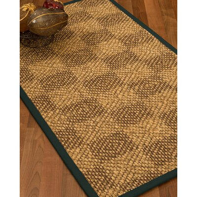 Hearne Hand Woven Brown Area Rug Rug Size: Rectangle 6 X 9