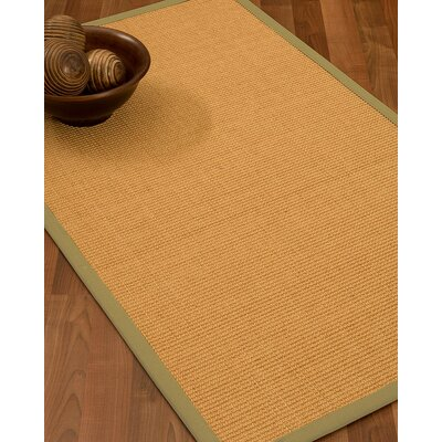 Buggs Hand Woven Brown Area Rug Rug Size: Rectangle 9 X 12