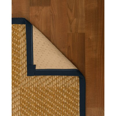 Adley Hand-Woven Beige Area Rug Rug Size: Rectangle 4 X 6