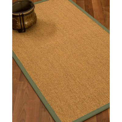 Healey Hand Woven Brown Area Rug Rug Size: Runner 26 x 8