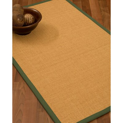 Buggs Hand Woven Brown Area Rug Rug Size: Rectangle 12 x 15