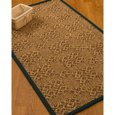 Camile Hand Woven Brown Area Rug Rug Size: Rectangle 6' X 9'