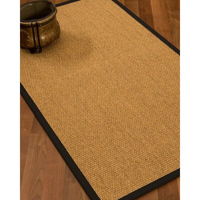 Healey Hand Woven Brown Area Rug Rug Size: Rectangle 9 X 12
