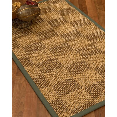 Hearne Hand Woven Brown Area Rug Rug Size: Rectangle 5 X 8
