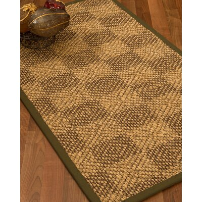 Hearne Hand Woven Brown Area Rug Rug Size: Runner 26 x 8