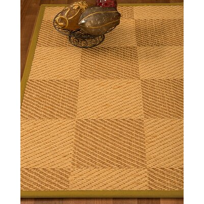 Luhrmann Hand Woven Beige/Brown Area Rug Rug Size: Rectangle 3 X 5