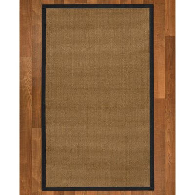 Jamesville Hand Woven Brown Area Rug Rug Size: Rectangle 12' x 15'