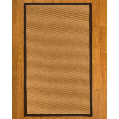 Shauntel Hand-Woven Beige Area Rug Rug Size: Rectangle 4 X 6
