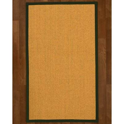 Pritzker Hand Woven Yellow Area Rug Rug Size: Rectangle 8 X 10