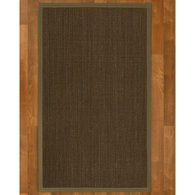 Hedlund Hand Woven Brown Area Rug Rug Size: Rectangle 5 X 8