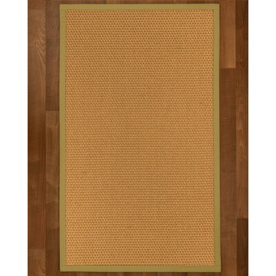 Shauntel Hand Woven Yellow Area Rug Rug Size: Rectangle 5 X 8