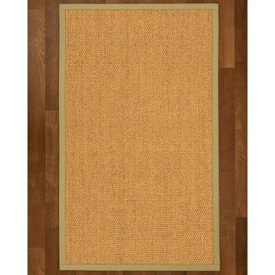 Healey Sisal Sand Area Rug Rug Size: 3 X 5