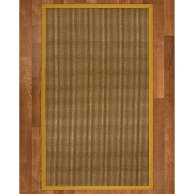 Asther Sisal Tan Area Rug Rug Size: 4 X 6
