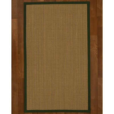 Asther Hand-Woven Brown Area Rug Rug Size: Rectangle 6 X 9