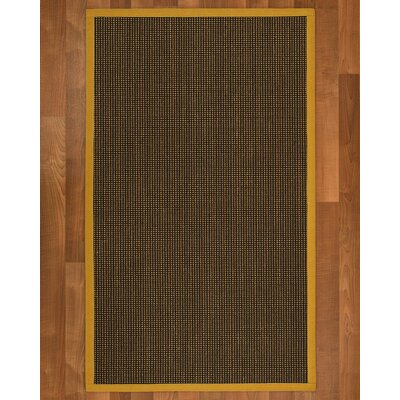 Hedlund Hand Woven Brown Area Rug Rug Size: Runner 26 x 8