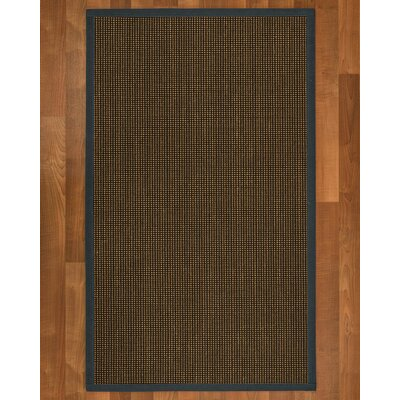 Hedlund Hand Woven Brown Area Rug Rug Size: Rectangle 6 X 9