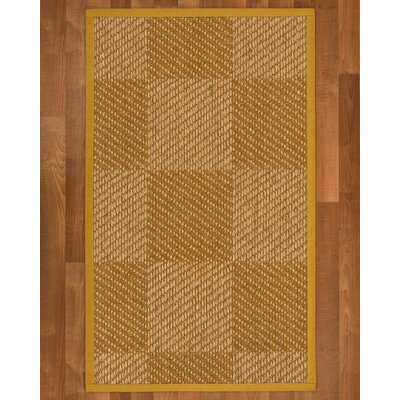 Adley Sisal Tan Area Rug Rug Size: 6 X 9