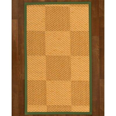 Luhrmann Sisal Green Area Rug Rug Size: 4 X 6