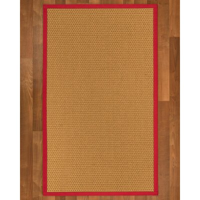 Shauntel Hand-Woven Beige Area Rug Rug Size: Rectangle 2 X 3