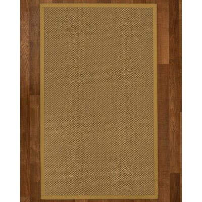 Loehr Hand Woven Brown Area Rug Rug Size: Rectangle 2 X 3