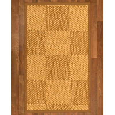 Luhrmann Sisal Sienna Area Rug Rug Size: 4 X 6