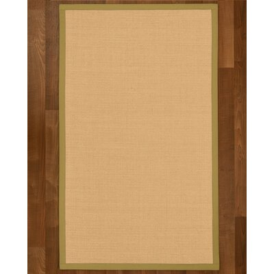 Rupendra Hand Woven Beige Area Rug Rug Size: Rectangle 8 X 10