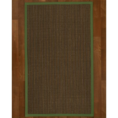 Hedlund Hand Woven Brown Area Rug Rug Size: Rectangle 9 X 12