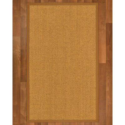 Andlau Hand Woven Brown Area Rug Rug Size: Rectangle 6 X 9