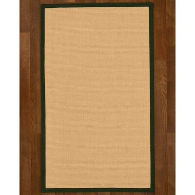 Rupendra Hand-Woven Beige Area Rug Rug Size: Rectangle 5 X 8