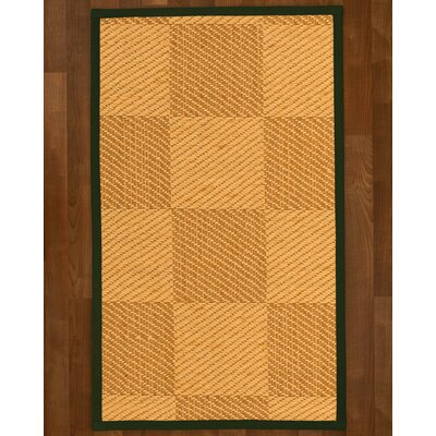 Luhrmann Hand Woven Beige/Brown Area Rug Rug Size: Rectangle 4 X 6