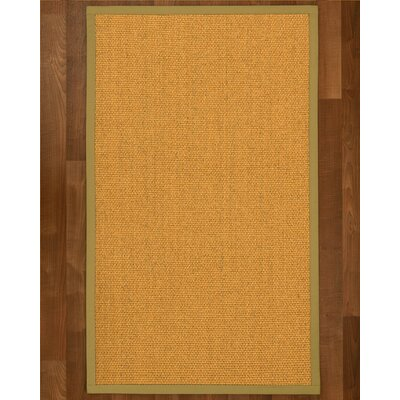 Pritzker Hand Woven Yellow Area Rug Rug Size: Rectangle 2 X 3